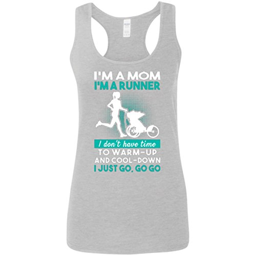 I'm A Mom I'm A Runner Tank Top - Tank Top for Women - Women Tank Top - Running Tank Top - Activities - Outdoor - Gift for Women, Her - Nice Gift