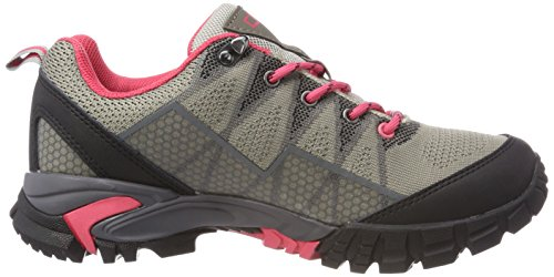 Mujer de Beige CMP Zapatos Senderismo Rise Low Corda para Tauri xEU0T0wqCf