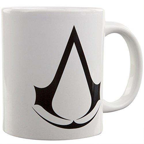 Surreal Assassin's Creed & Logo Coffee Mug, 11 oz