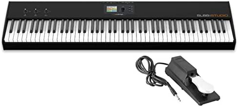 Studiologic SL88 Studio 88-Note Hammer Action Keyboard MIDI Controller w/ Sustain Pedal - 10152696 , B01JASUS5O , 285_B01JASUS5O , 18973157 , Studiologic-SL88-Studio-88-Note-Hammer-Action-Keyboard-MIDI-Controller-w-Sustain-Pedal-285_B01JASUS5O , fado.vn , Studiologic SL88 Studio 88-Note Hammer Action Keyboard MIDI Controller w/ Sustain Pe