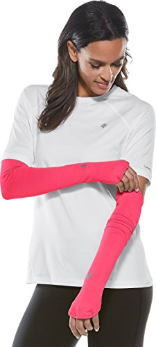 (Coolibar UPF 50+ Women's Performance Sleeves - Sun Protective (X-Small- Punch)