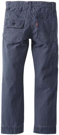 Levi's Big Boys' Utility Pant, Navy, 16