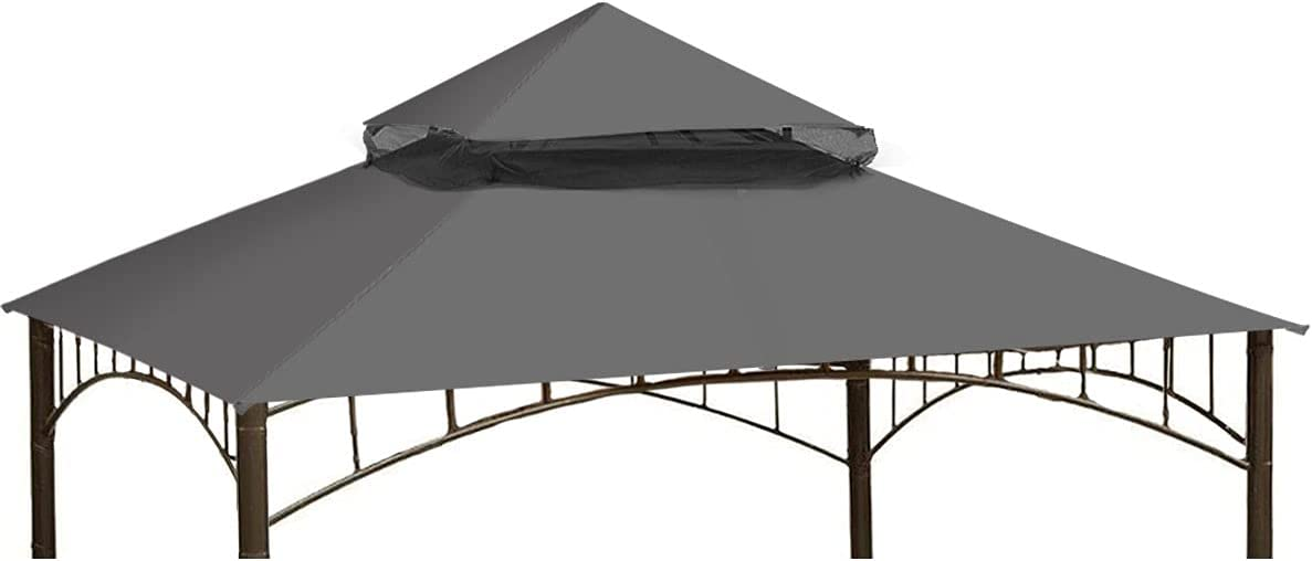 Ontheway Winds Replacement Canopy for Target Madaga Gazebo (Grey)