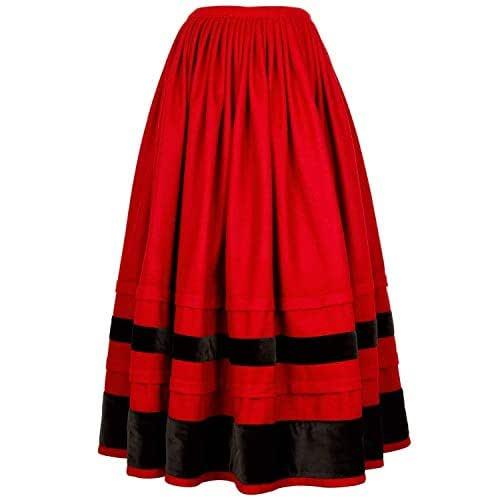 Falda regional, típica tradicional. Mod. Chantada.
