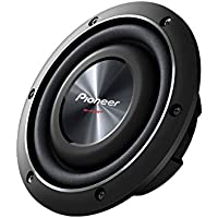 "Pioneer TS-SW2002D2 Shallow-Mount 8"" Subwoofer with Dual 2-Ohm Voice Coils"