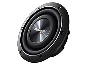 Pioneer Ts Sw2002d2 8 Inch Shallow Mount Subwoofer With 600 Watts Max Power