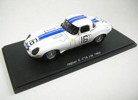 1/43 ジャガー Eタイプ 1963年 ル・マン24時間 #16 ドライバー:R.Salvadori/P.Richards S2105