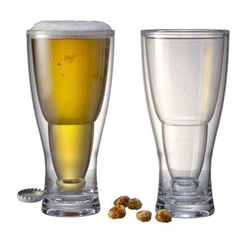 - Prodyne BG-2 Beer Glass, 12 oz, Clear