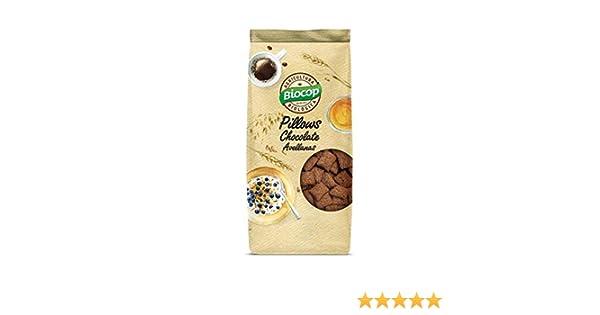 Cereales Pillows de Chocolate y Avellanas Biocop, 300 g: Amazon.es: Alimentación y bebidas