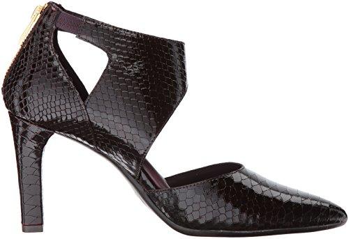Aërosols Womens Tax Cut Dress Pump Wine Snake
