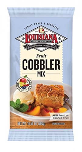 Louisiana Mix Cobbler -