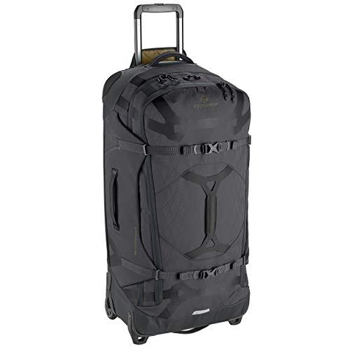 Eagle Creek Gear Warrior 2-Wheel Rolling Duffel Bag, 34-Inch, Jet Black
