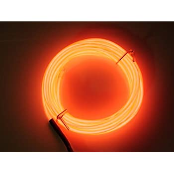 Amazon alitove 164ft 5050 smd orange led flexible strip light aquat 3m 9ft rope led light strip el wire cable for car home decoration costume thanksgiving aloadofball Image collections