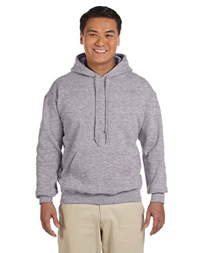 Gildan 18500 - Classic Fit Adult Hooded Sweatshirt Heavy Blend - First Quality - Sport Grey - 3X-Large