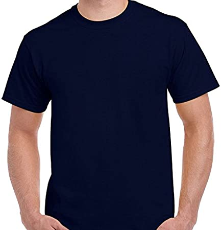 Positivos Básicas/Lisas Camiseta Urbana Lisa - Azul Marino - XL: Amazon.es: Hogar