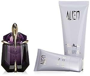 thierry mugler alien fragrance set for women eau de parfum spray plus body lotion. Black Bedroom Furniture Sets. Home Design Ideas