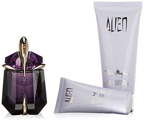 Thierry Mugler Body Shower Gel (Thierry Mugler Alien Fragrance Set for Women (Eau de Parfum Spray plus Body Lotion plus Shower Gel))
