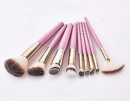 3c9b7c5e11df Jax & Olivia - Pink Rose Gold Kabuki 9 Piece Professional Makeup ...