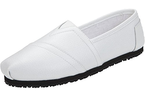 White Slip 6 Laforst Work Shoes Resistant 3112 On 5 Flat Jess Womens Slip HATA0cvwq