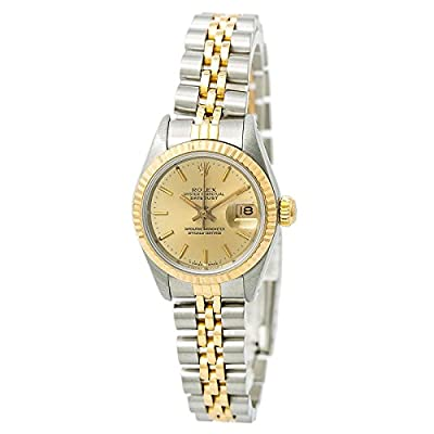 Rolex Datejust Automatic-self-Wind Female Watch 69173 (Certified Pre-Owned) by Rolex