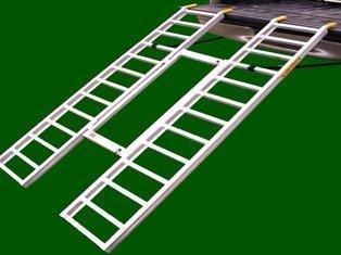 """Great Day Tri-Fold Adj. Lite - 42-52x76,1250-lbs. Recessed 5"""" Rung(Pat.#6,837,669)"""