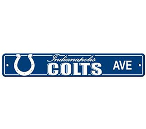 Colts Sign Street Indianapolis - MyPartyShirt Indianapolis Colts Ave Street Sign 4