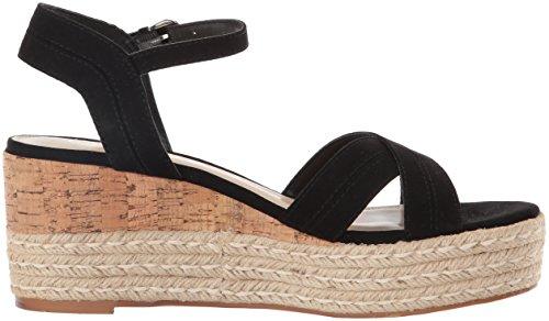 Callisto Women's Ofelia Platform Sandal Black Suede psL4r