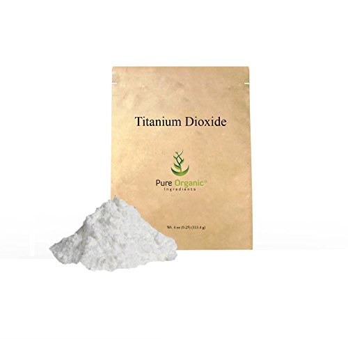 Titanium Dioxide 4 Oz 0 25 Lb Cosmetic Grade  Non Nano Particles Are Gentle On Skin  Food Grade  Kosher   Halal Certified  Vegan  Non Gmo  Whitens Homemade Soaps   Lotions   8 Oz  16 Oz  24 Oz  50 Lb