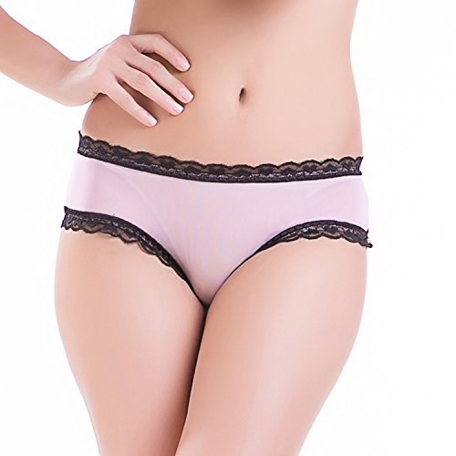 Womens Plus Size Open Crotch Boyshorts Panties Briefs Lace Thongs S-XXL