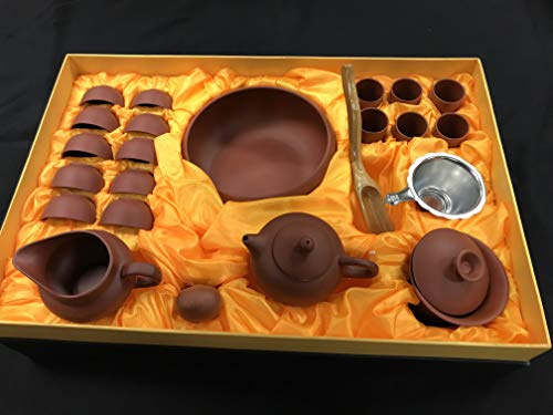 Yixing Tea Set - Music City Tea Yixing Tea Set 14pcs Best Dealer Limited Offer By Music City Tea