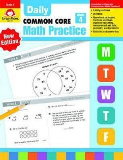 Wes Tuttle: Daily Common Core Math Practice, Grade 4 (Paperback - Teachers Ed.); 2014 Edition