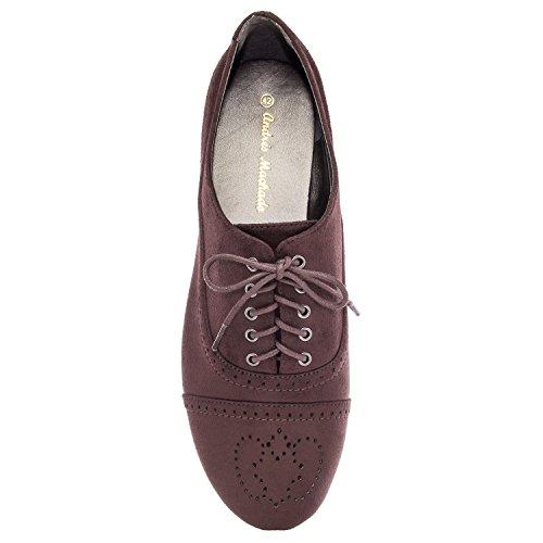 Grandes Machado Mujer Andres la Zapato en 45 de Marron AM5117 Tallas Ante 42 axHqfx4