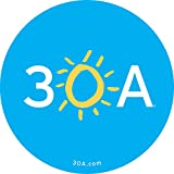 #9: 30A Sticker – Official (Pack of 5)