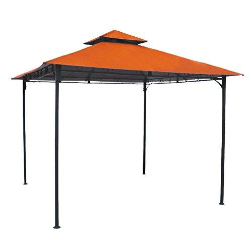 Discount International Caravan YF-3136B-TC-IC Furniture Piece Square Vented Canopy Gazebo