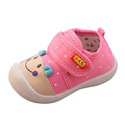 Baby Boys Girls Cartoon Squeaky Sneakers,Outsta Infant Kids Soft Sole Anti-Slip Shoes