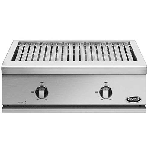 DCS Liberty Built-In Gas All-Grill (71126) (BFGC-30G-L), 30-Inch, Propane (Renewed)