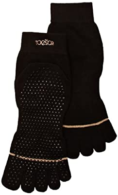 ToeSox Full Toe with Grip Yoga/Pilates Toe Socks from ToeSox
