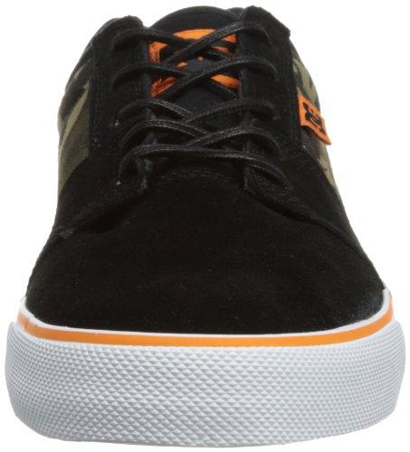 DC Shoes Tonik Xe M - Zapatos de cuero para hombre Negro (Nero (Schwarz (BLACK/CAMO)))
