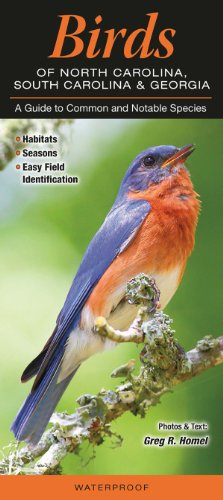 Birds of North Carolina, South Carolina & Georgia: A Guide to Common & Notable ()