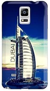 Stylizedd Samsung Galaxy Note 4 Premium Slim Snap case cover Matte Finish - Burj Al Arab - Dubai