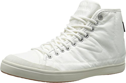 Tretorn Women's Skymra Mid SL GTX W Fashion Sneaker, White, 7.5 B US