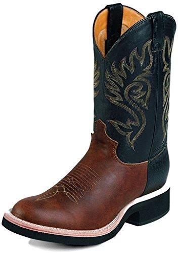justin tekno crepe boots - 1