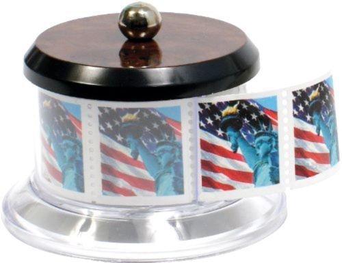 Baumgartens Postage Stamp Dispenser CLEAR (80600) Stamp Keeper