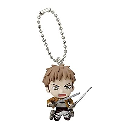 Attack on Titan Swing Keychain Figure - Jean Kirstein