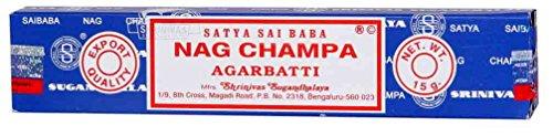Satya Sai Baba Nag Champa Incense in the Small Box of 15 grams