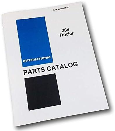 Amazon.com: International Ih 284 - Número de catálogo manual ...