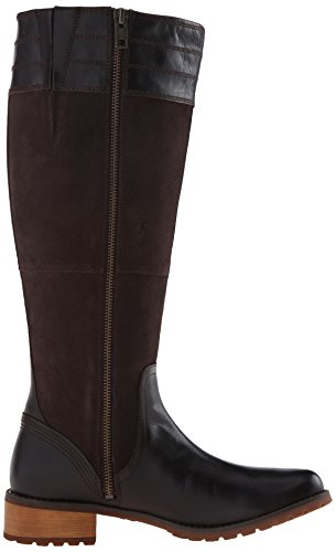 Brown Timberland Dark mujer Boot fit Bethel la Tall alturas all Euroveg Suede de gwqp1AH