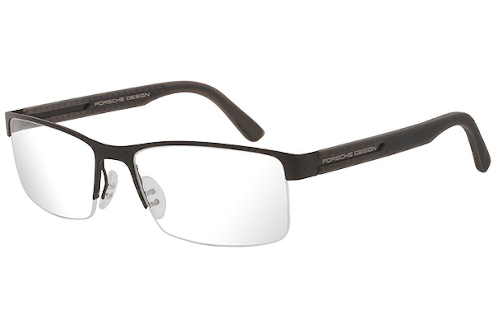 Porsche Designs Eyeglasses P8230 A Black Demo 55 17 135