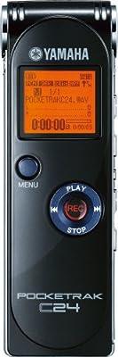 Yamaha POCKETRAK C24 2GB Portable Digital Recorder (Discontinued by Manufacturer) by Yamaha PAC