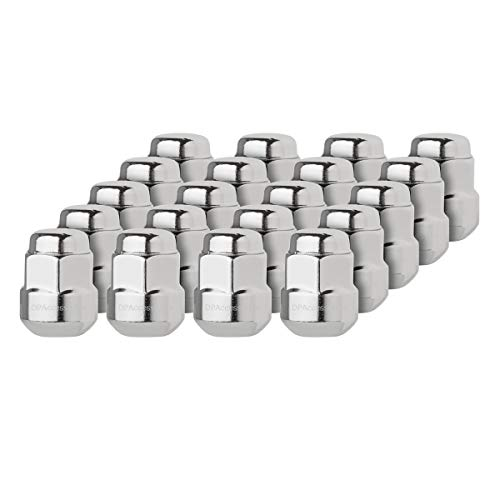 DPAccessories LCR2B6HCOCH04020 20 Chrome Factory Style Lug Nuts for Honda Acura Aluminum Wheels 90381S4L003 Wheel Lug Nut